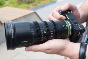 Fujinon MK50-135mm T2.9 Cine-Style Zoom Lens, MFT Mount #MK50-135MM T2.9 M4/3 for Sale in Buena Park, CA
