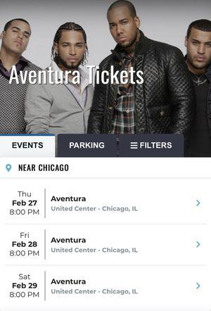 Aventura tikes for Sale in Chicago, IL