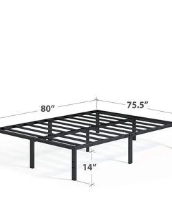 ZINUS Metal Platform Bed Frame And Zinus 10 Inch Green Tea Memory Foam Mattress for Sale in Seattle,  WA