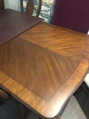 Wood dining table seats 10 for Sale in Eldon, MO