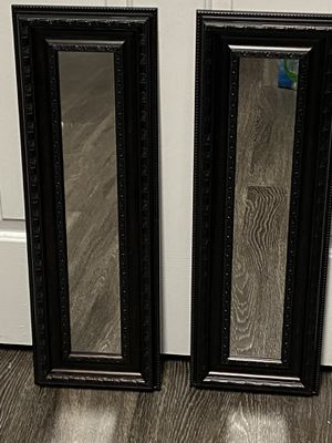 Pair of wall mirrors for Sale in Gastonia, NC