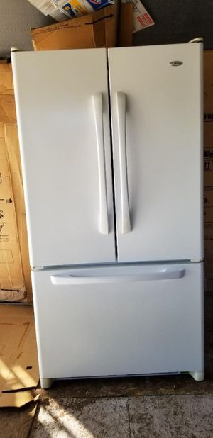 Nice Amana by Whirlpool french door refrigerator for Sale in Lakeside, CA