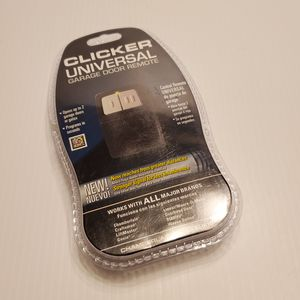 Chamberlain Clicker Universal Garage Door Remote KLIK1U Factory Sealed. UPC 787083554513. for Sale in San Jose, CA