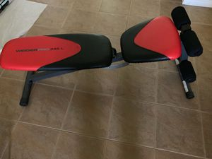 Weider Pro 225L Adjustable Incline Bench for Sale in Phoenix, AZ