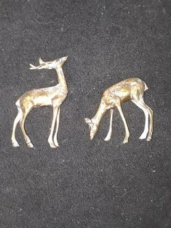 2 Brass Deers for Sale in Revere,  MA