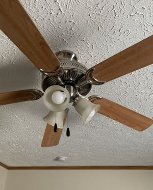 Ceiling fan and light fixture for Sale in Morgantown, WV