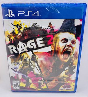 RAGE 2 Sony PlayStation 4 PS4 Brand New Factory Sealed Bethesda for Sale in Puyallup, WA