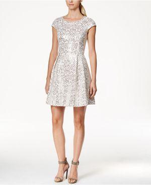 Calvin Klein Prom Sequin Dress Sz 4 Petite for Sale in Dallas, TX