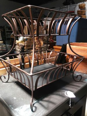 Metal two tier baskets for Sale in San Diego, CA