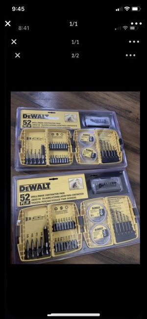 Dewalt drill bit set for Sale in Tracy, CA