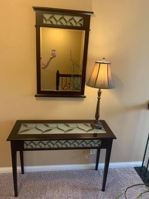 Entry table with mirror for Sale in Dublin, OH