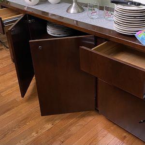 File Cabinet Credenza 71X26 Vintage for Sale in Villa Park, IL