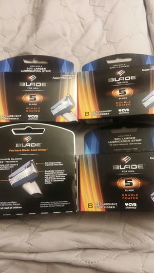 5 blade razor cartridges NEW sealed for Sale in Cleveland, OH