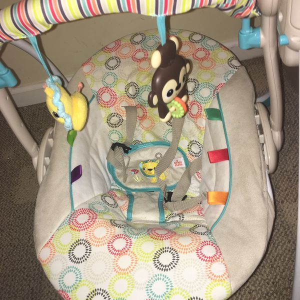 Baby Swing with Attached Toy and new batteries