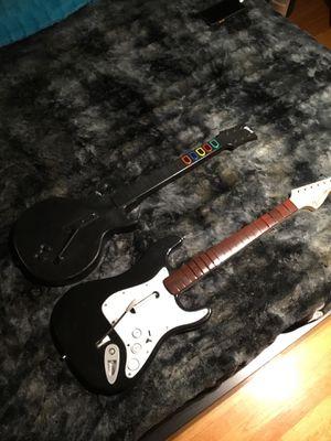 Xbox 360 Guitar Hero/Rockband Guitars for Sale in Chicago, IL