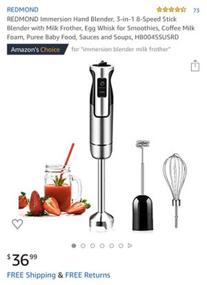 8 speed stainless steel immersion blender for Sale in Las Vegas, NV