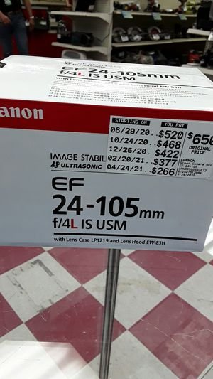 Canon stabilizer for Sale in Georgetown, TX