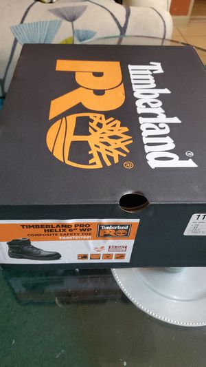 TIMBERLAND SAFETY WORK BOOTS 11 for Sale in Sunrise, FL