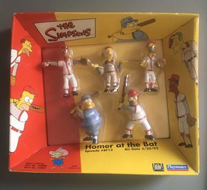 Simpsons Homer at the Bat mini set for Sale in Redford Charter Township, MI