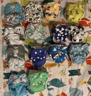 Newborn cloth diapers for Sale in Aurora, OR