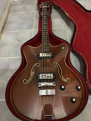 Classic, 60s Ovation Typhoon Bass guitar for Sale in Bristol, CT