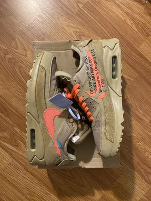 OffWhite Airmax90 Desert Ore sz 9.5 for Sale in Los Angeles, CA