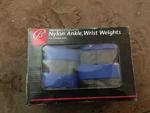 Bally 2 Nylon Ankle, Wrist Weights 1 to 5 Pounds Each for Sale in Vancouver, WA