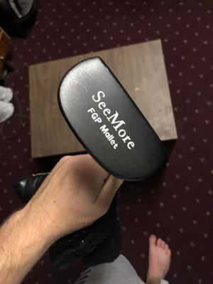 SeeMore FGP Mallet Putter for Sale in South Zanesville, OH