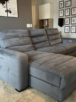 Sofa with Chase Navy for Sale in Austin,  TX