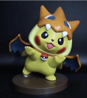 Pokémon Pikachu Charizard Y Cosplay Figure Statue for Sale in Graniteville, SC