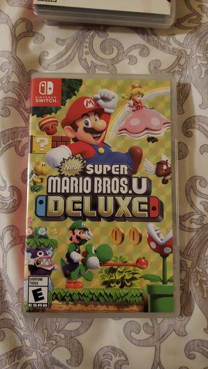 New Super Mario Bros U Deluxe (Nintendo Switch) for Sale in Lawrenceville, GA