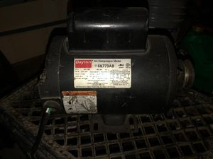 Compressor + motor for Sale in Bakersfield, CA