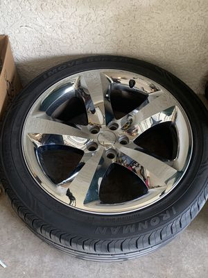Dodge charger rims and tires for Sale in Naples, FL