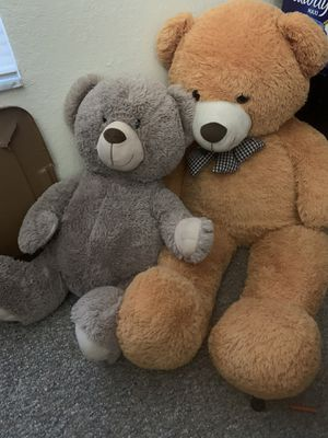 Large teddy bears for both for Sale in Tampa, FL