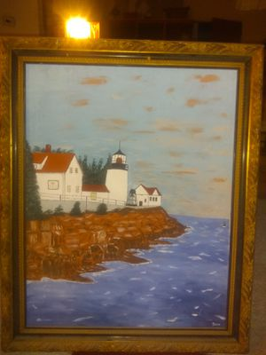 Hand painted oil painting for Sale in Saint Joseph, MO
