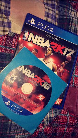 NBA 2k16 & 2k17 for Sale in Montgomery, AL