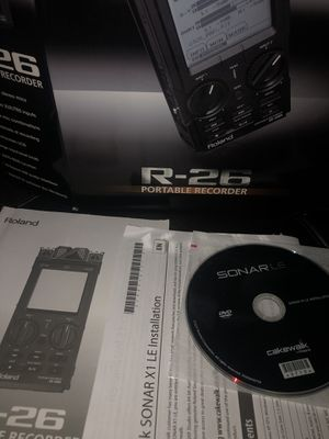 Roland R-26 portable recorder for Sale in San Antonio, TX
