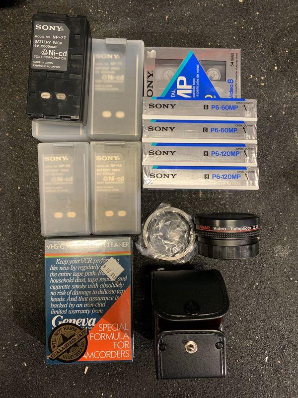 VINTAGE Waterproof Sony Video Camera Recorder