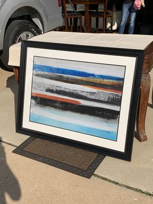 Contemporary Abstract Artwork Signed for Sale in Chesterfield, MO