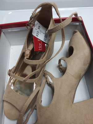 Beige block heels for Sale in Lithia Springs, GA