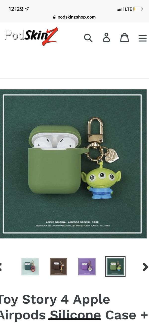 Apple AirPod Protection Case Toy Story Silicone Covers ...