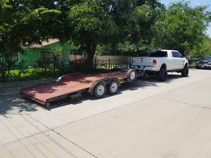 Rent trailer 16 ft and 20ft car hauler for Sale in Dallas, TX