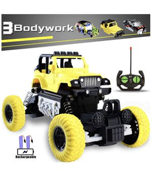 RC Cars Rechargeable Remote Control Car Off Road Truck Hobby RC Crawlers Toy for Kids Boys Girls Gift 27 MHz High Speed Stunt Vehicle with 2 Recharg for Sale in Corona, CA