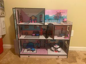LOL surprise doll house for Sale in Irvington, NJ