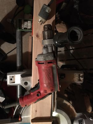 """Milwaukee 1/2"""" Hammer Drill with Chuck Key for Sale in Marlborough, MA"""