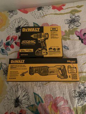 """Dewalt"" - Drill Driver Kit (1/2"" 13 mm"") + Saw Saw (Reciprocating Saw) for Sale in Avondale, AZ"