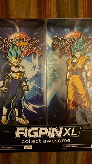 Dragonball Fighter Z Figpins for Sale in Glendale, AZ
