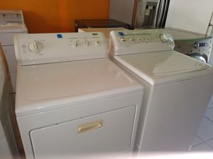 KENMORE WASHER AND GAS DRYER SET for Sale in Garden Grove, CA