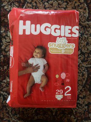 Huggies little snugglers Size 2 for Sale in Chula Vista, CA