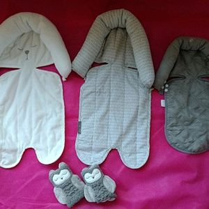 Car Seat Covers/Head Stabilizer & Safety Belt Pads for Sale in Pittsburgh, PA